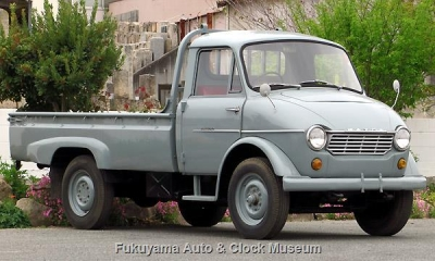 マツダD1500(DUB91,1964年式) 4月20日撮影【クリックで大きく表示】