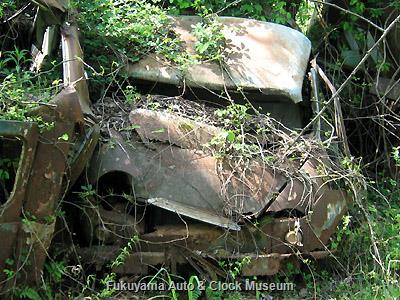 兵庫県某所の廃車体集積地に遺存していたマツダD1100(1959〜61年式)の廃車体