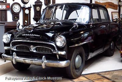 当館展示のトヨペット クラウン RS (1958年式)