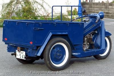 三輪トラック・マツダ号GA型(1949年式)【クリックで大きく表示】