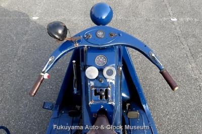 三輪トラック・マツダ号GA型(1949年式)の操作部【クリックで大きく表示】