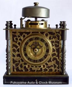 和時計の「枕時計」(前面)【クリックで大きく表示】