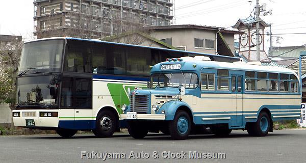 三原交通 いすゞU-LV771R スーパークルーザーUFCとボンネットバス・日野BH15