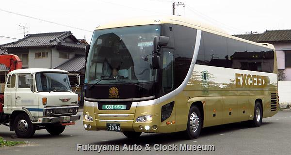 エクシードタクシー ななつ星VIPバス 日野セレガSHDと日野レンジャーKL-SD