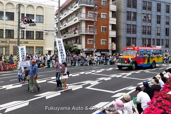 福山ばら祭 ローズパレード2016へ出場