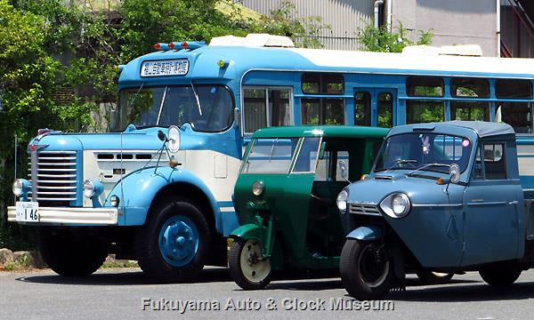 日野BH15とバタンコタクシーと糸目三輪