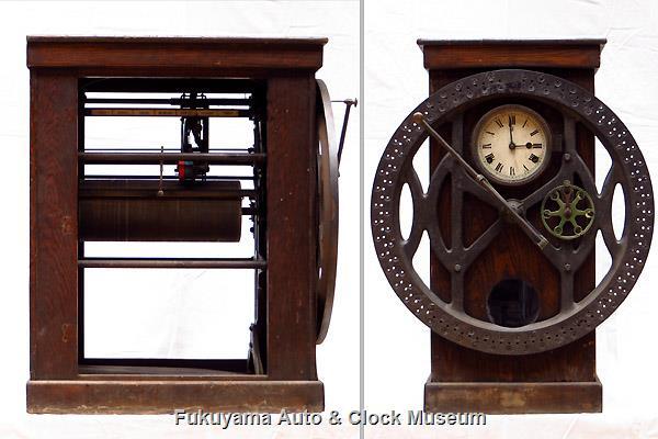 International Dial Time Recorder Clock