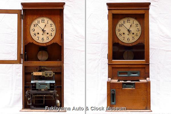 Cincinnati Time Recorder Clock