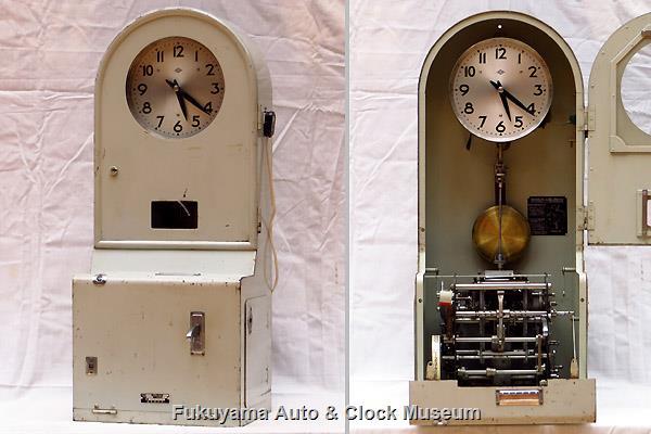服部時計店 電気自動巻式タイムレコーダー