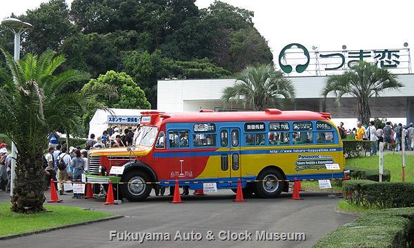 2006年9月23日、つま恋で展示されたボンネットバス・日野BA14 TSUMAGOI号