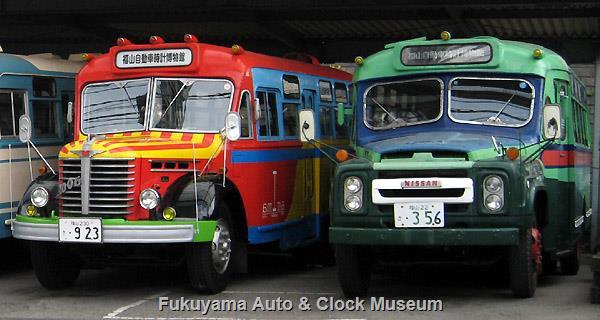 ボンネットバス・日野BA14とニッサンU690