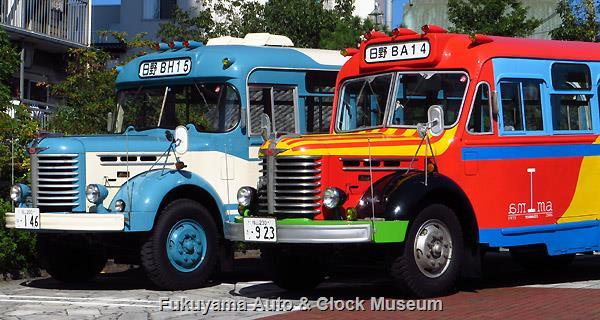 ボンネットバス・日野BA14と日野BH15