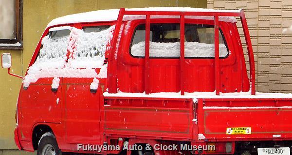 マツダJ-BA2N9改 ボンゴ 元消防可搬ポンプ積載車(1982年式)