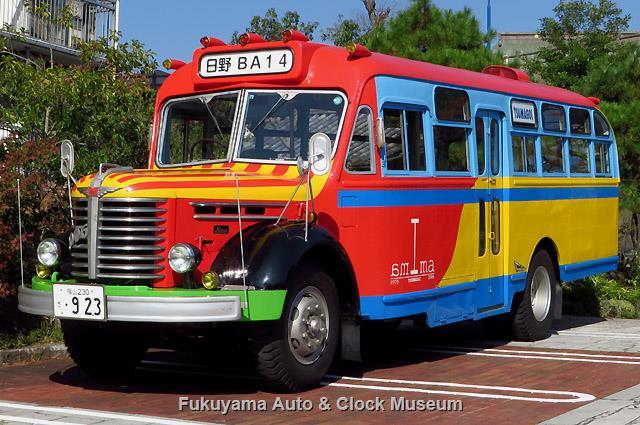 ボンネットバス・日野BA14(東浦自動車工業,1958年式)