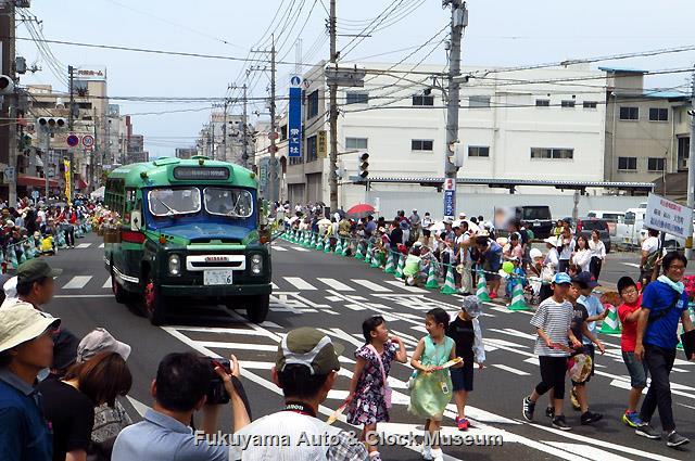 福山ばら祭 ローズパレード2017へ出場