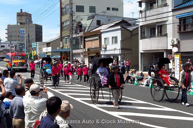 福山ばら祭 ローズパレード2018へ出場