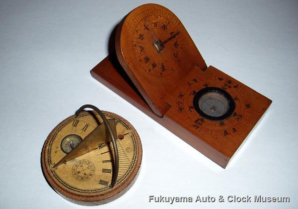 携帯用日時計