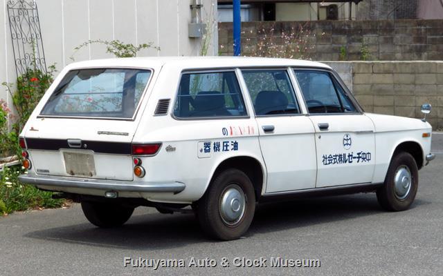 いすゞ K-PAD30V フローリアンバン ディーゼルの後面〜右側面