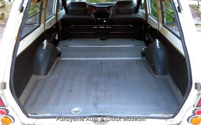 いすゞ K-PAD30V フローリアンバン ディーゼルの荷室フルフラット状況