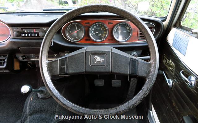 いすゞ K-PAD30V フローリアンバン ディーゼルの運転装置と計器類