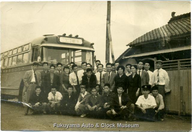 昭和32〜33年撮影 ニコニコ自動車 ミンセイRN91/西日本車体工業 1957〜58年式