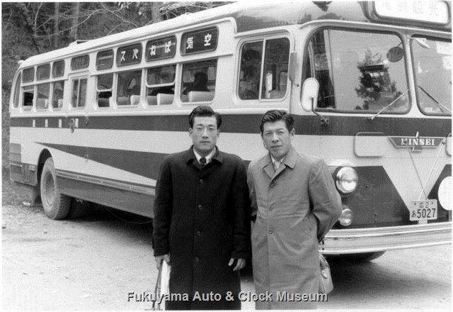 昭和34年撮影 尾道鉄道 広2あ5027 ミンセイRNA91/西日本車体工業 1959年式