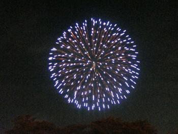 西武園花火画像