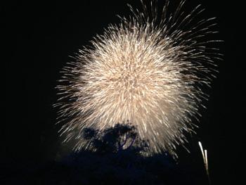 西武園花火大会2013