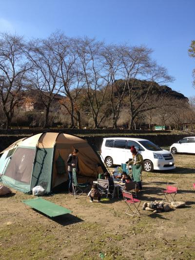 H25.12笠置キャンプ1