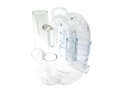 手吹きガラス製マメオーバーフロー