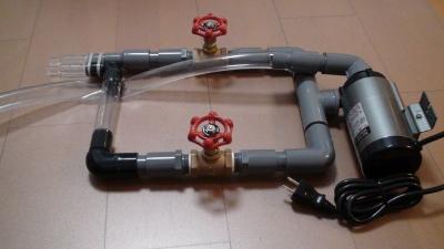マメオーバーフロー2台xポンプ1台の動作03