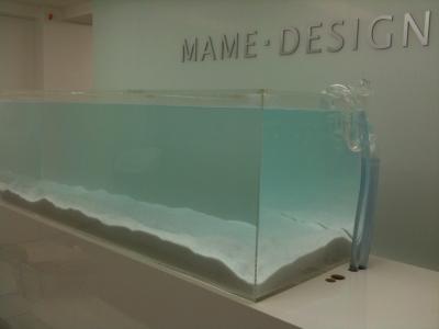 マメデザイン1800水槽(マメカルシウムサンド)