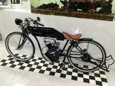 自転車型モペット(モペッド)バイク・ボードマスター・ジャペッド・ボードトラックレーサー・Board Track Racer