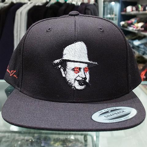 "9ad0e16ce88 Dream Team Snapback Cap ""Al Capone""   Black 5"
