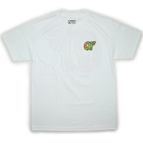 "08d139aff3ac OFWGKTA T-shirts ""Awesome Donut""   White 6"