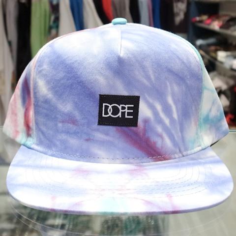 125e5071eea DOPE Tie-Dye Snapback Cap   Purple x Teal 4 7