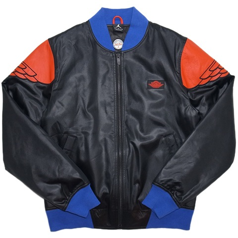 9e8fc2abe14 Just Don Air Jordan II Pinnacle Bomber Jacket / Black, Bright Blue &  University Red 83,500円+税