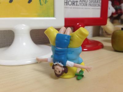 コップのフチ子とふなっしー (2)