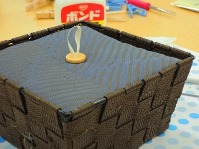 バスケット作り教室