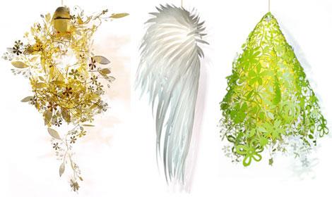 繊細な北欧ライトGarland light、Icarus light、Midsummer light