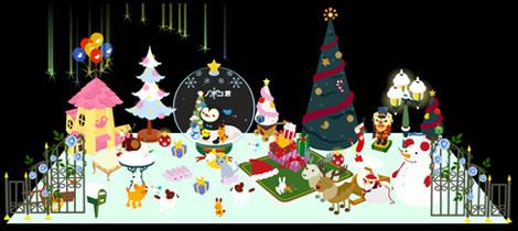 バルビレッジ(Barvillage)お部屋のクリスマスレイアウト