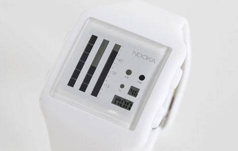 NOOKA(ヌーカ)の腕時計・白