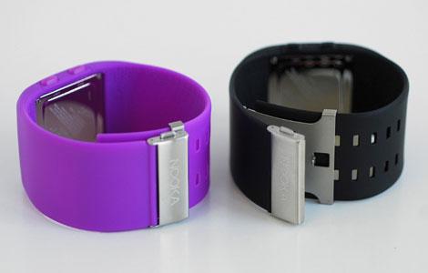 発色綺麗なラバーバンド・紫と黒