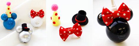 ミッキーマウスのアクセサリー、Mplayer帽子キット