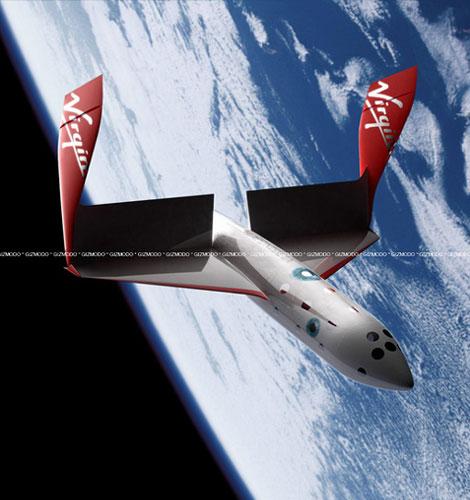 ヴァージン・ギャラクティックの宇宙船飛行機・スペースシップツー