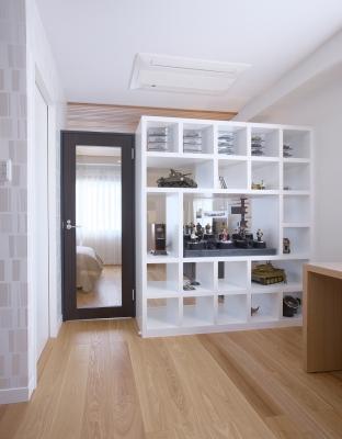 書斎と寝室