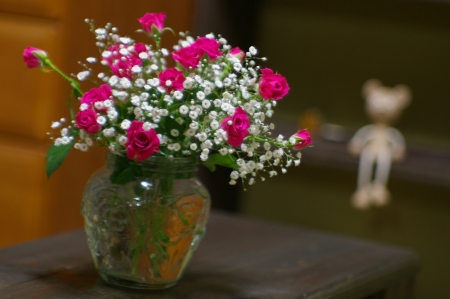 お花をもらうのは嬉しい、女の子だもん