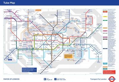 Standard Tube Map 2009