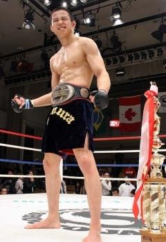 第6代修斗世界ライト級王者 田村彰敏