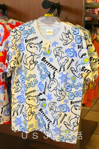 涼しげなTシャツ. スヌーピー